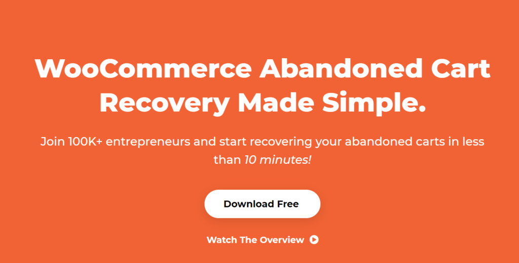 recoving abandon cart customers of woocommerce store using woocommerce cart abandonment plugin